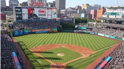 Cleveland Indians home stadium