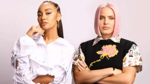 Leigh-Ann Pinnock and Anne Marie