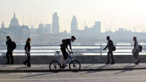 Walking and cycling in London