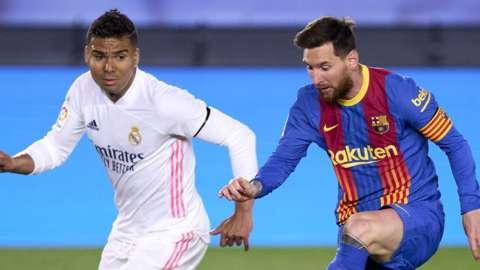 Casemiro & Lional Messi