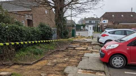 Storrington paving slabs