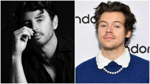 Paul Roberts and Harry Styles