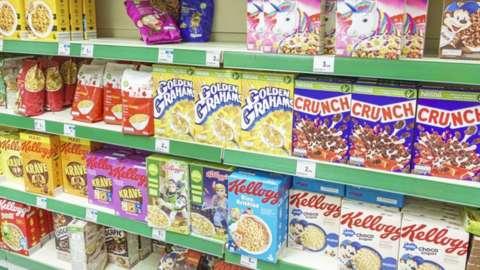 Kellogs cereals