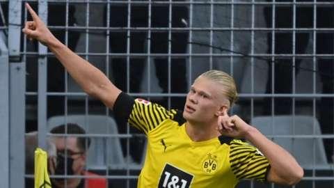 Erling Haaland, Borussia Dortmund, Eintracht Frankfurt