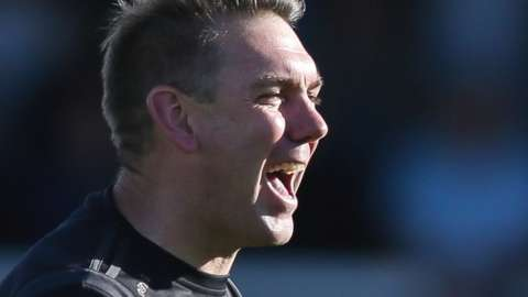 Dave Challinor was appointed Hartlepool boss in November 2019