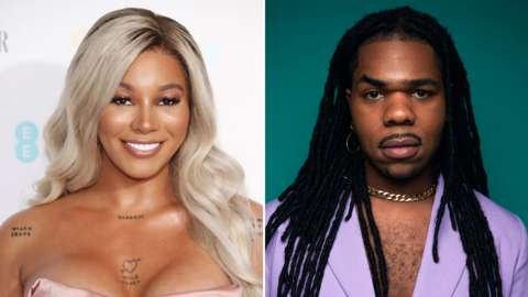 Split image of Munroe Bergdorf and MNEK