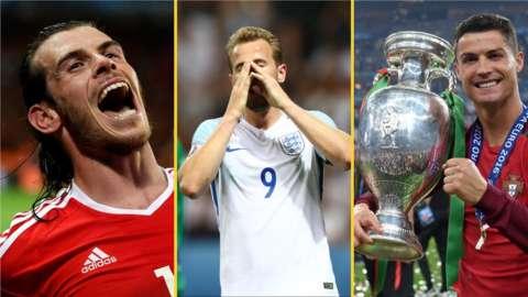 Gareth Bale, Harry Kane and Cristiano Ronaldo