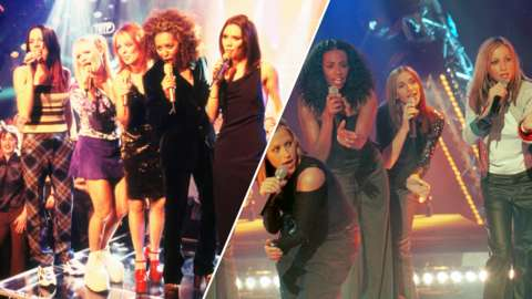 Spice Girls and All Saints