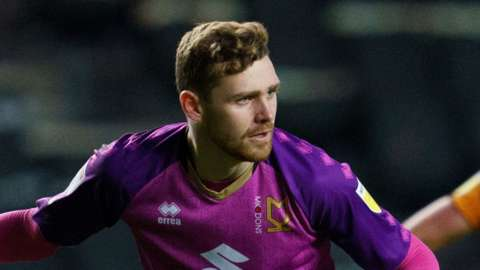 Andrew Fisher, MK Dons