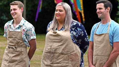 The Bake Off finalists