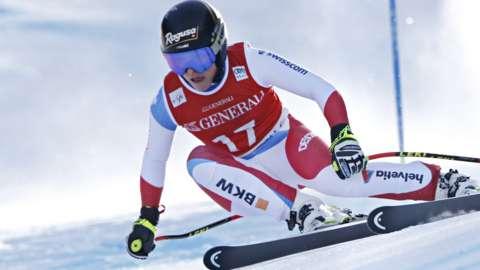 Lara Gut Behrami of Sweden