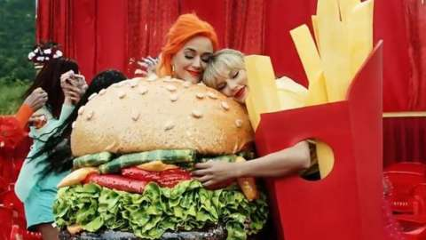 Katy Perry in Taylor Swift's new music video