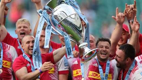 Harlequins Premiership champions