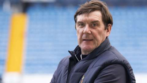New Kilmarnock manager Tommy Wright