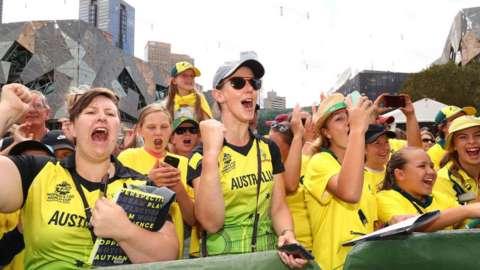 Australian cricket fans