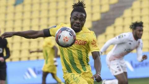 Nigeria and Nantes' Moses Simon