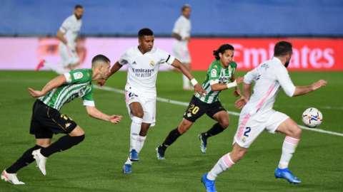 Real Madrid attack