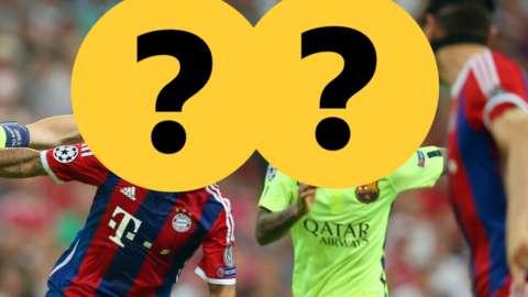 Barca v Bayern Munich