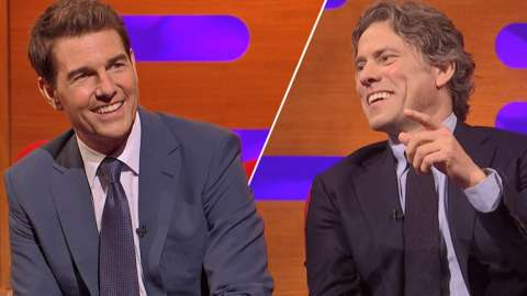 Tom Cruise and John Bishop