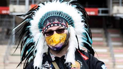 Exeter chiefs fan