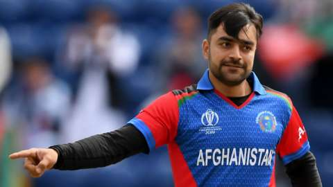 Afghanistan spinner Rashid Khan