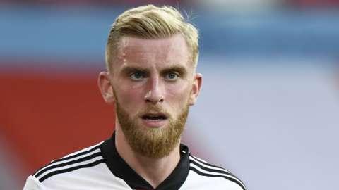 Sheffield United striker Oli McBurnie