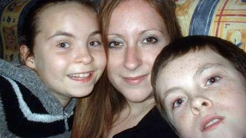 Billie, Jemma and Alex in 2007
