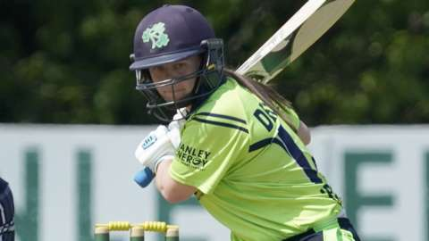 Laura Delany's Ireland side suffered a first ever defeat by the Netherlands