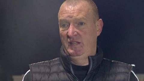 Hamilton Academical head coach Brian Rice