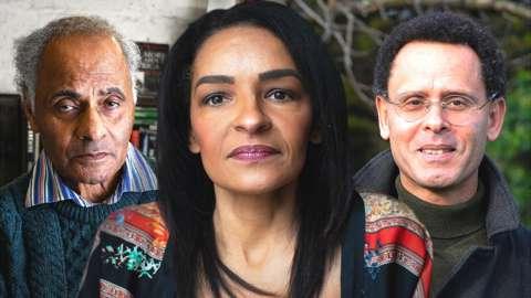 Jude Hughes, Marguerite Penrose and Conrad Bryan