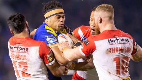 St Helens and Warrington are among the clubs with the largest wage bills