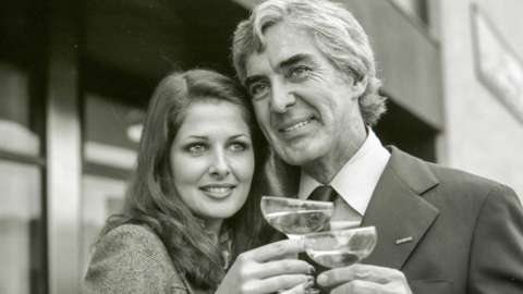 John DeLorean and his wife
