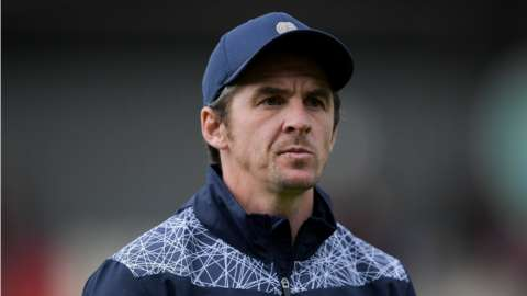 Bristol Rovers manager Joey Barton