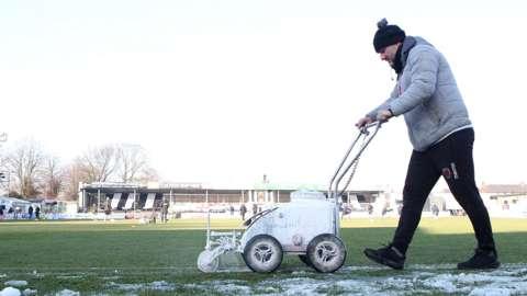 Chorley groundsman