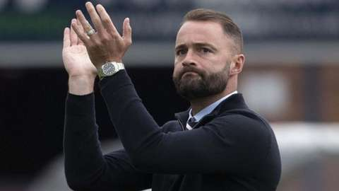 Dundee manager James McPake