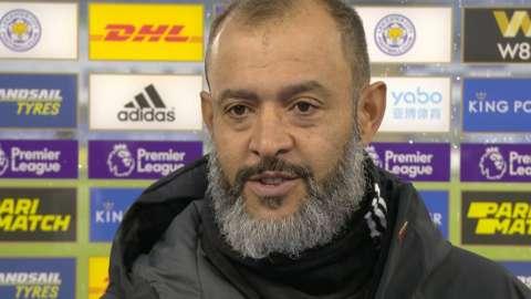 Nuno praises 'very good' Leicester