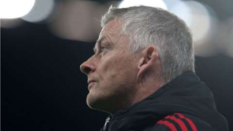 Manchester United boss Ole Gunnar Solskjaer after their 5-0 defeat to Liverpool