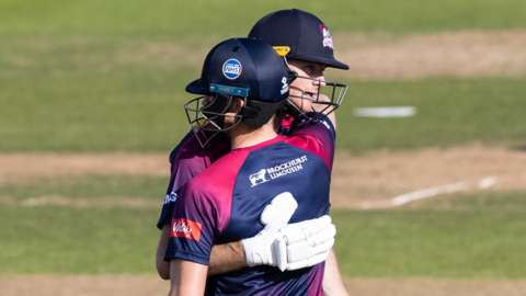 Tom Taylor and Graeme White saw Northants to victory