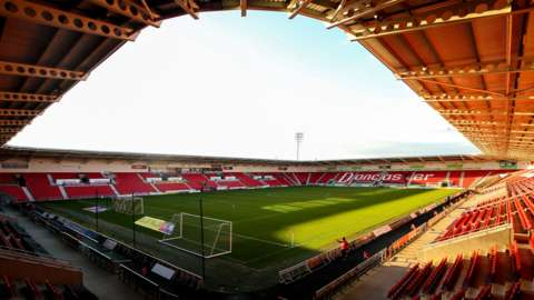 General view of Doncaster's Keepmoat Stadium