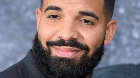 Rapper/singer Drake features twice in YouTube's top 10