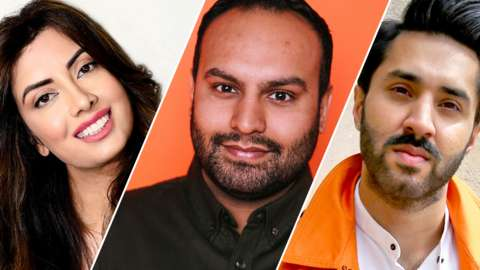 Noreen Khan, Haroon Rashid and Mobeen Azhar