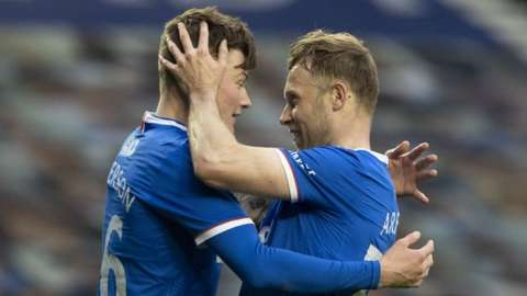 Rangers pair Nathan Paterson and Scott Arfield