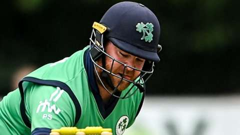 Paul Stirling and fellow opener Kevin O'Brien put on 90 for Ireland's opening wicket in Dubai