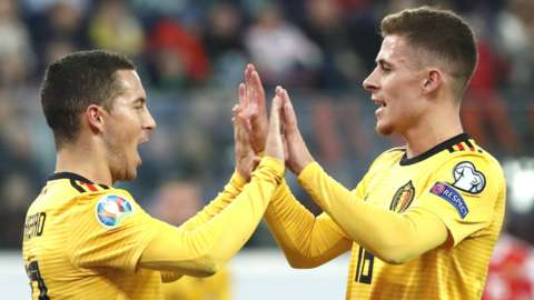 Eden and Thorgan Hazard