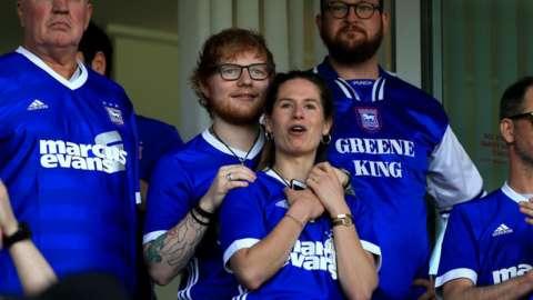 Ed Sheeran and his wife Cherry