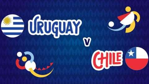 Uruguay v Chile badge graphic