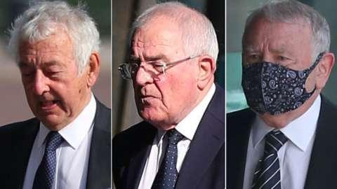 Alan Foster, Donald Denton and Peter Metcalf