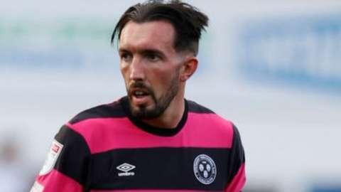 Shrewsbury striker Ryan Bowman is in his first season at Oteley Road