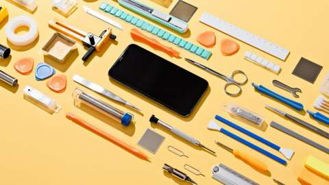 Mobile phone and tools