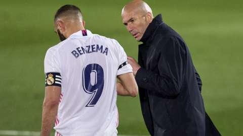 Karim Benzema & Zinedine Zidane